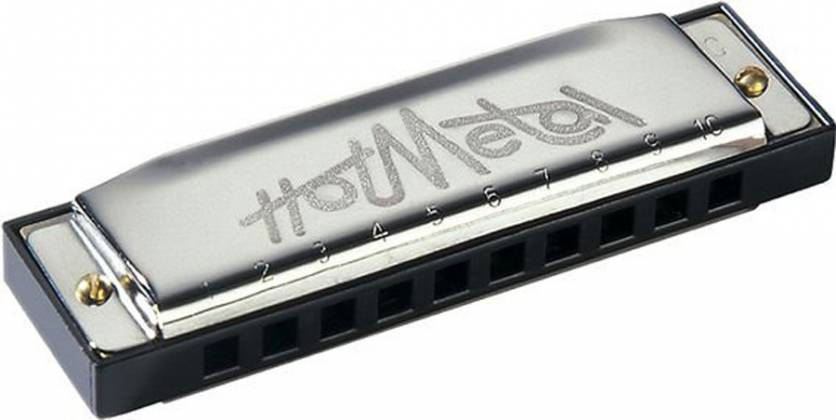 Hohner 572BX-E Hot Metal Blistered in the Key of E Product Image 3