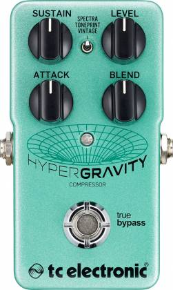 TC Electronic HYPER G COMP HyperGravity Compressor Guitar Pedal hyper-g-comp Product Image 2