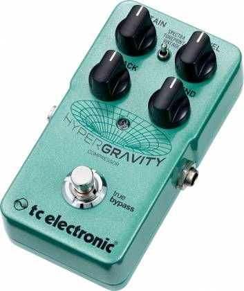 TC Electronic HYPER G COMP HyperGravity Compressor Guitar Pedal hyper-g-comp Product Image