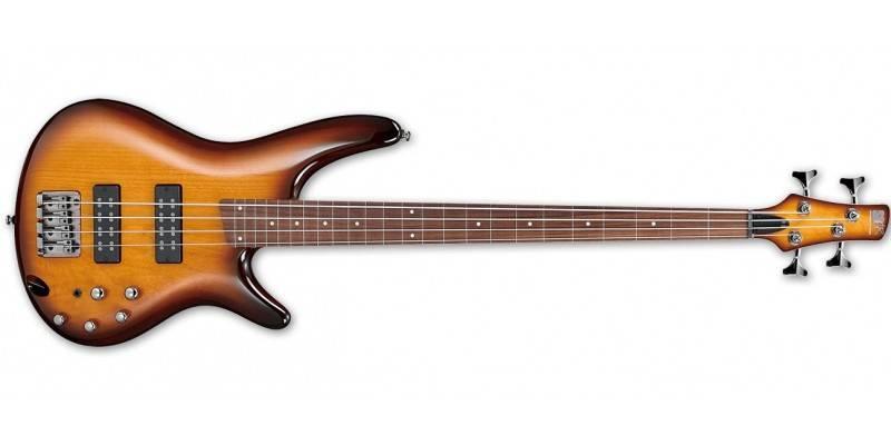 Ibanez SR370EF-BBT 4-String RH Fretless Electric Bass - Brown Burst Product Image 2