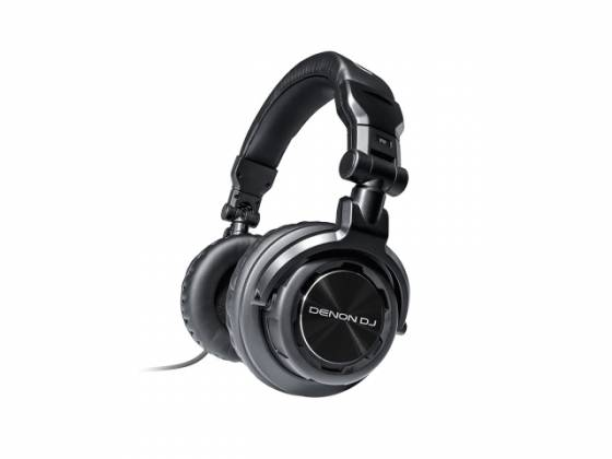 Denon DJ HP800 Headphones with Dual Sized Connectors Product Image 2