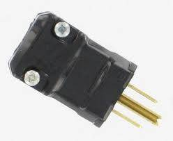 Hubbell HBL5965VBLK Black Nylon Square U Ground Male Electrical Connector  Product Image 2