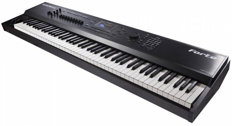 kurzweil forte 88 key professional stage piano keyboard with 16 gigabytes of all new sounds. Black Bedroom Furniture Sets. Home Design Ideas
