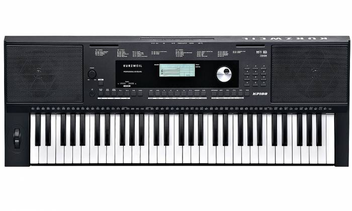 Kurzweil KP100 Touch Response Keyboard with 61 keys and 633 factory presets Product Image 2