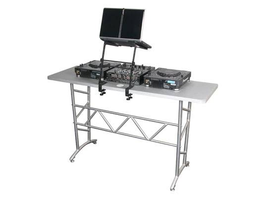 Odyssey LSTAND Folding Laptop Stand in Black with Clamps Product Image 7