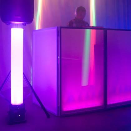 American DJ MAGNA-TUBE 3ft Plastic Tube for ADJ Flat Pars Series Product Image 5