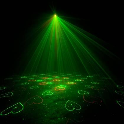 American DJ MICRO-GOBO-II Red & Green Laser Effect IR - 30MW Green / 80mW Red (9W) Product Image 6
