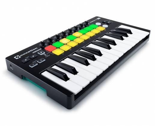 Novation Launchkey Mini MK2 Portable and Compact Mini MIDI Keyboard Controller Product Image 3