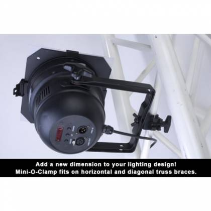American DJ MINI-O-CLAMP O Style Lighting Clamp Fits 3/4 Inch Truss Product Image 3