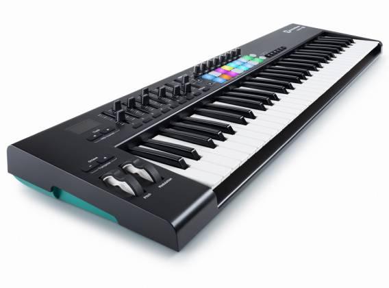 Novation Launchkey 61 MK2 61 Key Synth Style Velocity Sensitive MIDI Keyboard Product Image 2