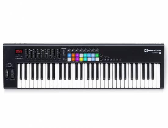Novation Launchkey 61 MK2 61 Key Synth Style Velocity Sensitive MIDI Keyboard Product Image 3