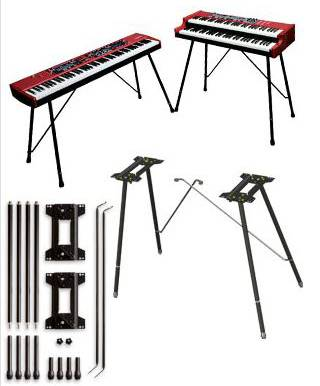 Nord By Clavia NSCL Nord Keyboard Stand EX for Nord Stage 2 Nord Stage EX Nord Piano 2 and More Product Image 2