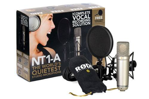 Rode NT1-A Cardioid Condenser Microphone Product Image 5