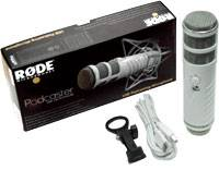 Rode Podcaster mk2 USB Broadcast Microphone rode-pod-caster-mk-2 Product Image