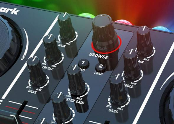 Numark Party Mix DJ Controller with free DJ software and Lightshow  Product Image 5