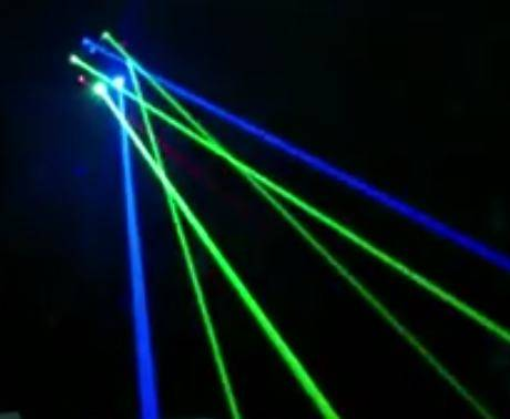 Microh DJ OCTOPUS RGB Laser - Green Blue and Red GIANT BEAMS (Discontinued Clearance Demo 9.5 condition)) Product Image 6
