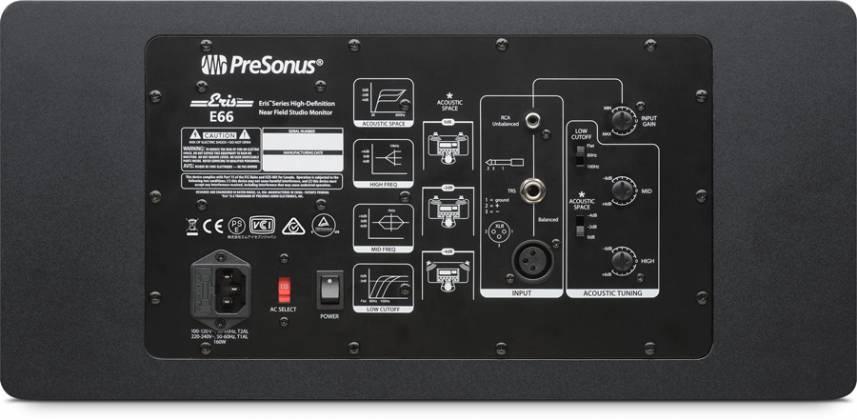 Presonus Eris E66 Active 6.5 Inch Driver MTM Nearfield Studio Monitor Product Image 3