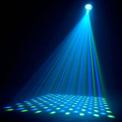 American DJ REVO-4-IR DMX Moonflower/Strobe Fixture with 256x 5mm RGBW LED 34W Product Image 4