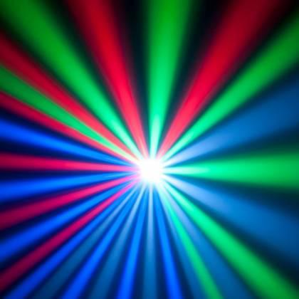 American DJ REVO-4-IR DMX Moonflower/Strobe Fixture with 256x 5mm RGBW LED 34W Product Image 5