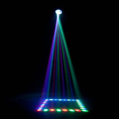 American DJ REVO-4-IR DMX Moonflower/Strobe Fixture with 256x 5mm RGBW LED 34W Product Image 6
