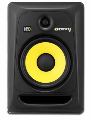 KRK RP8-G3 Powered Studio Monitor in Black with 8 Inch Woofer Product Image 2