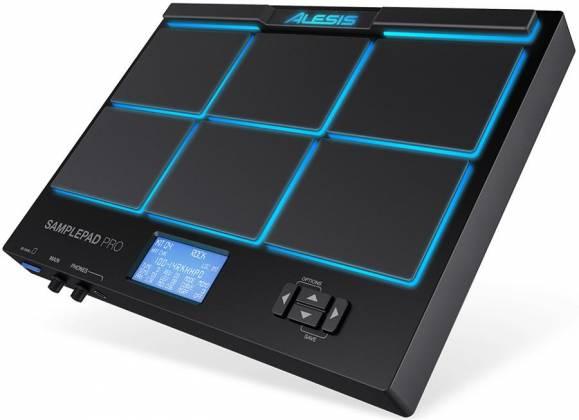 Alesis SAMPLEPADPROXUS 8-Pad Percussion and Sample Triggering Instrument Product Image 2