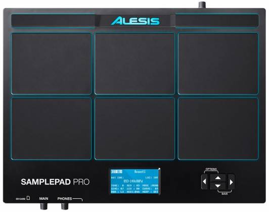 Alesis SamplePad Pro 8-Pad Percussion and Sample Triggering Instrument Product Image 4
