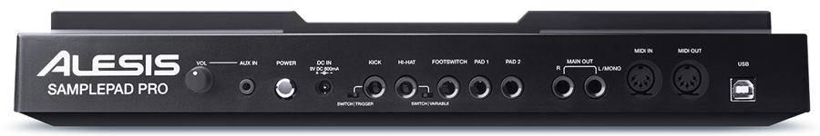 Alesis SAMPLEPADPROXUS 8-Pad Percussion and Sample Triggering Instrument Product Image 5