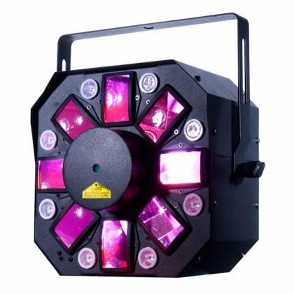 American DJ Stinger II DMX 3-in-1 LED Effect Fixture w/ 6x 5W RGBWYP Laser UV Product Image 2