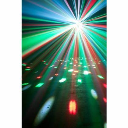 American DJ Stinger II DMX 3-in-1 LED Effect Fixture w/ 6x 5W RGBWYP Laser UV Product Image 4