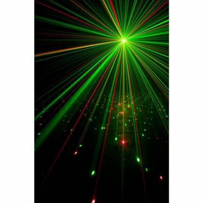 American DJ Stinger II DMX 3-in-1 LED Effect Fixture w/ 6x 5W RGBWYP Laser UV Product Image 6
