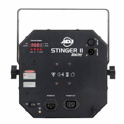 American DJ Stinger II DMX 3-in-1 LED Effect Fixture w/ 6x 5W RGBWYP Laser UV Product Image 3