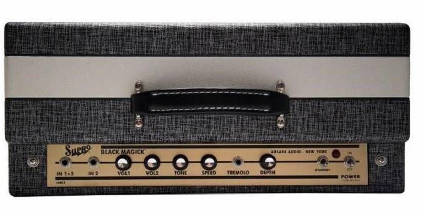 "Supro 1695T Black Magick - 25W 1x12"" Combo Amp Product Image 3"
