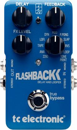 TC Electronic Flashback Delay & Looper Effects Pedal (discontinued clearance) Product Image 3