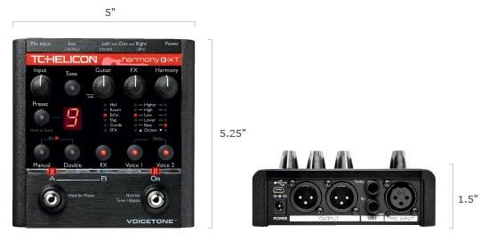 TC Helicon VoiceTone Harmony-G XT Vocal Harmony & Effects Processor Product Image 4