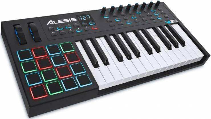 Alesis VI25 Advanced 25 Key USB MIDI Keyboard Controller Product Image 5