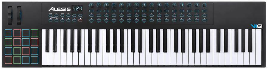 Alesis VI61 Advanced 61 Key USB MIDI Keyboard Controller Product Image 2