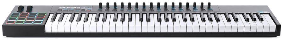 Alesis VI61 Advanced 61 Key USB MIDI Keyboard Controller Product Image 3