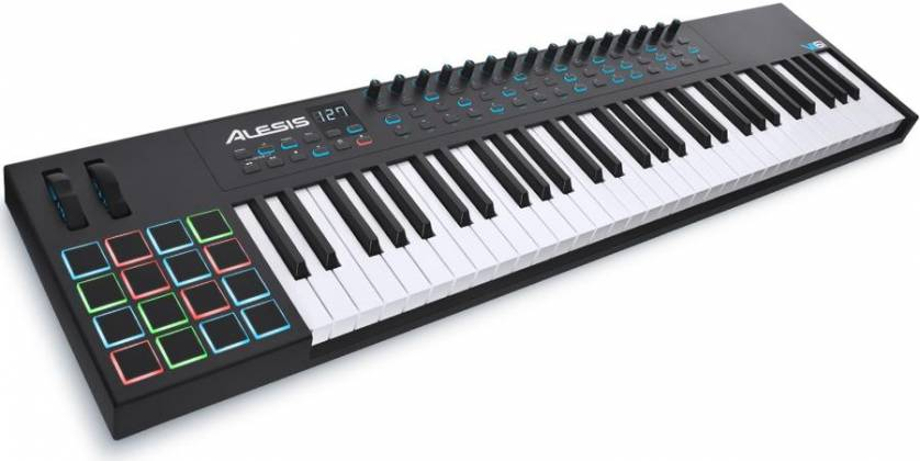 Alesis VI61 Advanced 61 Key USB MIDI Keyboard Controller Product Image 5
