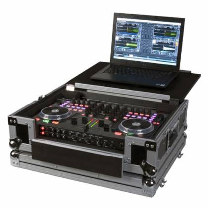 American DJ VMS4-FLIP-CASE Road Case for VMS4 with Flip Laptop Shelf Product Image 2
