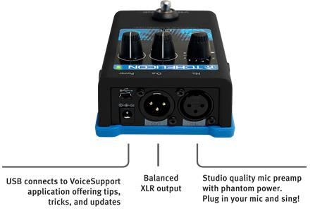 TC Helicon VoiceTone C1 Vocal Correction Pedal Product Image 7