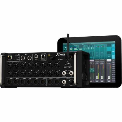 Behringer XR18 X Air 18-Channel, 12-Bus Portable Digital Mixer with Integrated Wi-Fi  Product Image 8