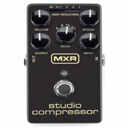 Dunlop M76 MXR Studio Compressor Fine Tuned Compressor Pedal Product Image 2