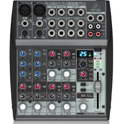 Behringer 1002FX Xenyx Series Premium 10-Input 2-Bus Mixer with British EQs and Multi-FX Processor Product Image
