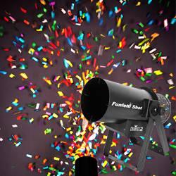 Chauvet DJ FUNFETTI Shot Confetti Launcher with Wireless or DMX Control Product Image
