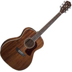 Washburn HG12S-O Heritage 10 Series 6 String Grand Auditorium Acoustic Guitar in Mahogany Product Image