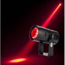 American DJ Saber-Spot-Go Battery Powered Compact 15W 4-in-1 Quad RGBW LED Pin Spot Product Image