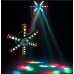 American DJ Starship 6 Arm LED Centerpiece Light Fixture Product Image