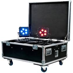 American DJ WI-FLIGHT-CASE with Built-in Charging WiFLY PARs  Product Image