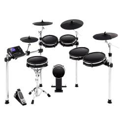 Alesis DM10MKIIPROKITXUS Pro Premium Ten-Piece Electronic Drum Kit with Mesh Heads Product Image